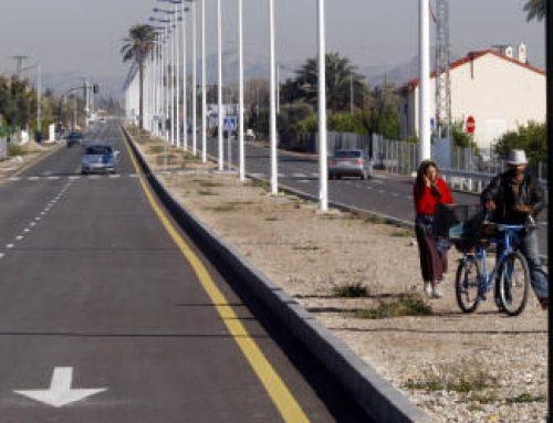 """Marcos Ros: """"El Gobierno local tiene obsesión con hacer las cosas mal. La nueva avenida de Beniajan es otro ejemplo del tipo de infraestructuras que hace"""""""