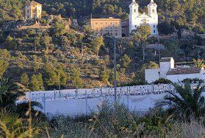 Aspecto que ofrece la falda del santuario de La Fuensanta, donde aún queda espacio verde. ::G. CARRIÓN/AGM